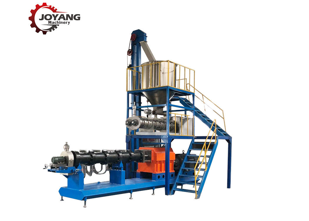 High Power Floating Fish Feed Machine Pellet Color Customized JY90/95 Model Number