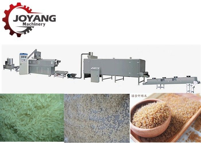 200kg / H Capacity Artificial Rice Machine Fortified Rice Production Line