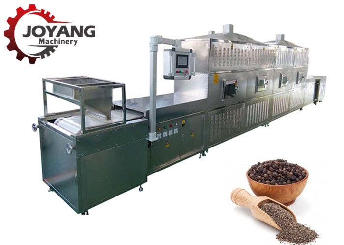 Industrial Microwave Drying And Sterilization Machine For Black Pepper White Pepper